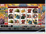 gratis fruitkasten spelen Captain America CryptoLogic