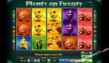 gratis fruitkasten spelen Plenty on twenty Greentube